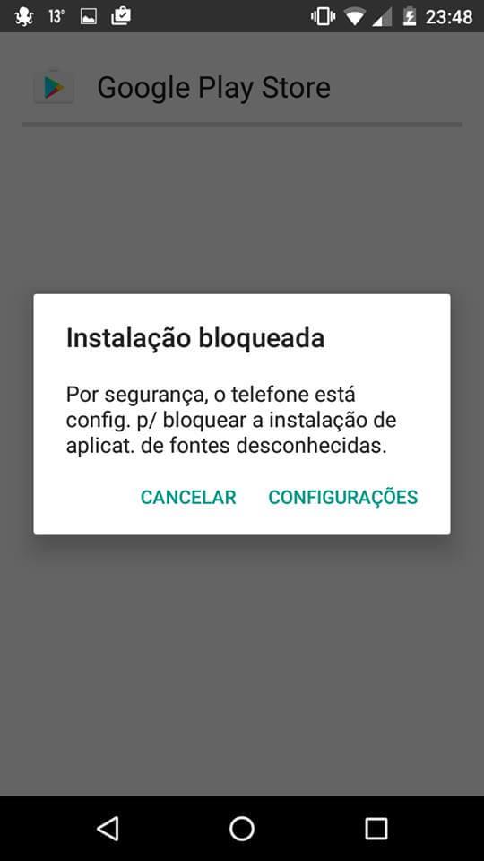 instalar Google Play Store para celulares Android