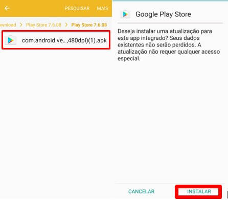 instalar google play